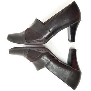 3/$25 🦄 AEROLOGY Cinorita Leather Heeled Loafer